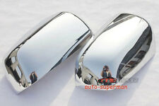 Chrome Side mirror cover Trims for Mitsubishi lancer sedan 2008-2017
