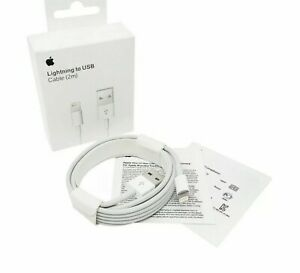 Genuine Original APPLE iPhone 11 Pro Max Charger Lightning to USB Cable 2m/6ft