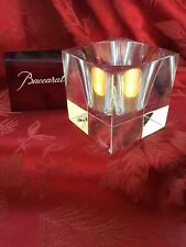 FLAWLESS Exquisite BACCARAT Glass VOLCAN Crystal VOTIVE CANDLE HOLDER BOWL DISH