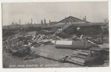 Boat Train Disaster At Salisbury Wiltshire Vintage Postcard 703b
