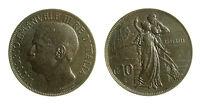 pcc2035_12) Vittorio Emanuele III  (1901-1943) 10 Cent Cinquantenario 1911