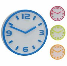 Relojes de pared azules redondos sin marca