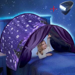 Dream Tents Kids House Space Adventure Wonderland Foldable Pop up Indoor Bed