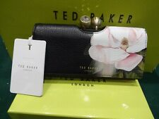 NEW WITH BOX & TAGS TED BAKER PAISLA BLACK OPAL FLORAL PRINT MATINEE PURSE