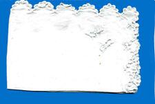 MOUCHOIRS  – COTON BLANC  Brodés main – initiale « PF »
