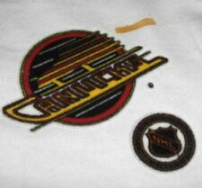 Vancouver Canucks 3 inch Lextra Iron-On Transfer Logo Patch