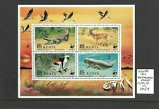 Kenya 1977 Endangered Species min sheet MNH