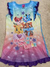 Hatchimals Sleepwear Gown Pj Girls Size 10/12