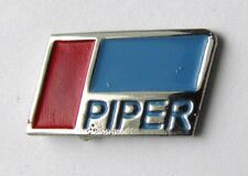 PIPER AIRCRAFT AVIATION ENGINE ENGINES LAPEL PIN BADGE 3/4 inch
