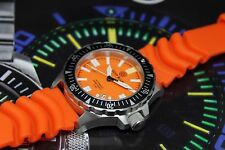 New Deep Blue Daynight Ops Professional Orange Automatic Sapphire Mens Watch