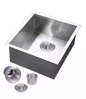 Voilamart Commercial Stainless Steel Kitchen Sink Deep