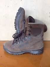 Size 8 suede brown combat high liability desert meindl boots!v/g condition