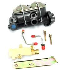 GM A-Body Power Master Cylinder w Bleeders + Disc Disc Proportioning Valve Kit