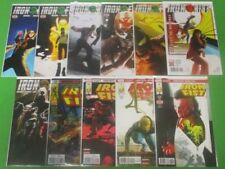 Iron Fist #1-7 + Legacy #73 Variant 74 75 76 Run Lot Of 11 Comics Marvel Brisson