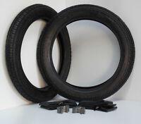 2 Reifen mit Schlauch Felgenband 3,50 x 19 Simson AWO IFA BK350 NSU DKW BMW F899