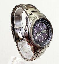 """RARE Men's JAPAN TITANIUM CHRONOGRAPH Watch CASIO """"Oceanus"""" (3732) OCW-500TDA"""