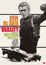 Bullitt Steve Mcqueen A4 260gsm cartel impresión