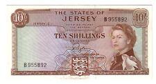 Jersey  10 shillings    1963  qFDS aUNC    pick 7 rif 2719
