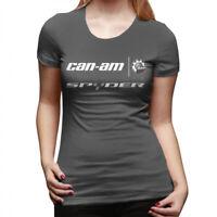 Women's Can Am Spyder Logo T Shirts