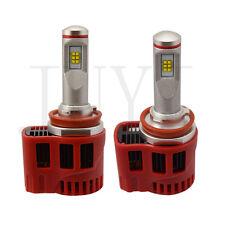 Pair 90W 9000LM Kit Car LED Headlight Bulbs H8 H9 H11 3000K 4000K 5000K 6000K