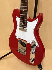3/4 Size Caraya Ei38 TC Electric Guitar Short Scale Red Gig Bag Strap Picks