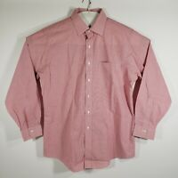 Brooks Brothers Mens Dress Shirt Button Up Long Sleeve 100% Cotton Size 16.5/34