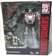 HASBRO TRANSFORMERS COMBINER WARS MEGATRON LEADER CLASS ACTION FIGURE