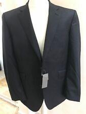 Men's Suit Jacket by John Lewis - Size 42 L- - Pinstripe TLRD Sb2 NTCH Navy