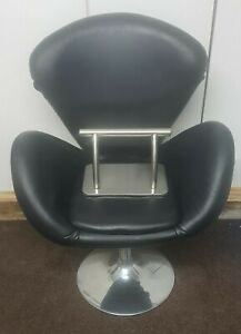 Black Hair Dressing Chair with free footrest LAST ONE