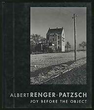 Donald KUSPIT / Albert Renger-Patzsch Joy Before the Object First Edition 1993