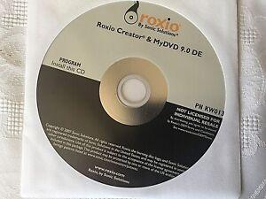 NEW Roxio Creator DE 10.2, SEALED DISC