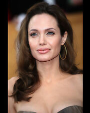 ANGELINA JOLIE 8X10 PHOTO PICTURE HOT SEXY CANDID CLOSE UP 3