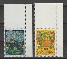 v1366 Liechtenstein/ CEPT 1981  MiNr 764/65 ** m.Eckrand