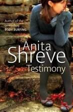 Testimony, Anita Shreve, Hardcover, New