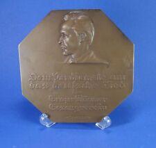 Johann Wilhelm Gösser (1881 Mühltal - 1966 Graz) Bronze Plakette signiert 1926