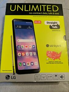 "STRAIGHT TALK LG STYLO 5 ANDROID SMARTPHONE 6.2"" DISPLAY 13MP BRAND NEW & SEALED"