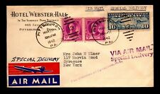 1942 Pittsburgh Airmail Special Delivery Cover - L26013