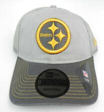 PITTSBURGH STEELERS NEW ERA NFL SNAPBACK 9TWENTY 2-TONE GRAY HAT CAP NWT! 920