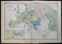 Napoleonic Europe France Britain Ottoman Empire Austria Prussia 1859 map