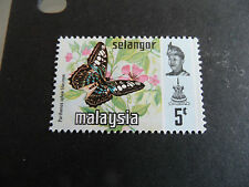 MALAYSIA/SELANGOR 1971 SG 154  BUTTERFLIES .  MNH