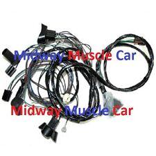 front end headlight wiring harness w/ standard headlights 1968 Pontiac GTO