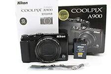 Nikon Digital Camera COOLPIX A900BK 20MP Wi-Fi 35x Optical Zoom 4K from Japan
