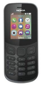 Genuine Nokia 130 2018 Edition UK Stock Locked to Vodafone Network + £10 Credit