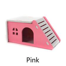 Kleines Tier Haus Bett Käfig Nest Hamster Igel Meerschweinchen Schloss Spielzeug