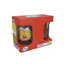 The Simpsons 'Duff Beer' Pint Glasses - 2 pack