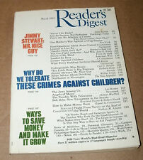 READER'S DIGEST 1985 MARCH JIMMY STEWART;ARMS CONTROL;ARTHRITIS;GARDENING;SONY