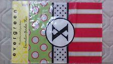 New listing Monogrammed Nylon Garden Flag, New! 18 X 12-1/2 inches, see description