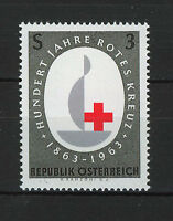 AUSTRIA 1963  MNH  SC.710 Intl.Red Cross Cent.