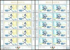 Moldova - 2014 - XXII Winter Olympic Games in Sochi, 2 sheets of 10v