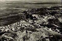 Westerland auf Sylt ~1950/60 Partie Campingplatz Luftbild Camping Ferien Zelte
